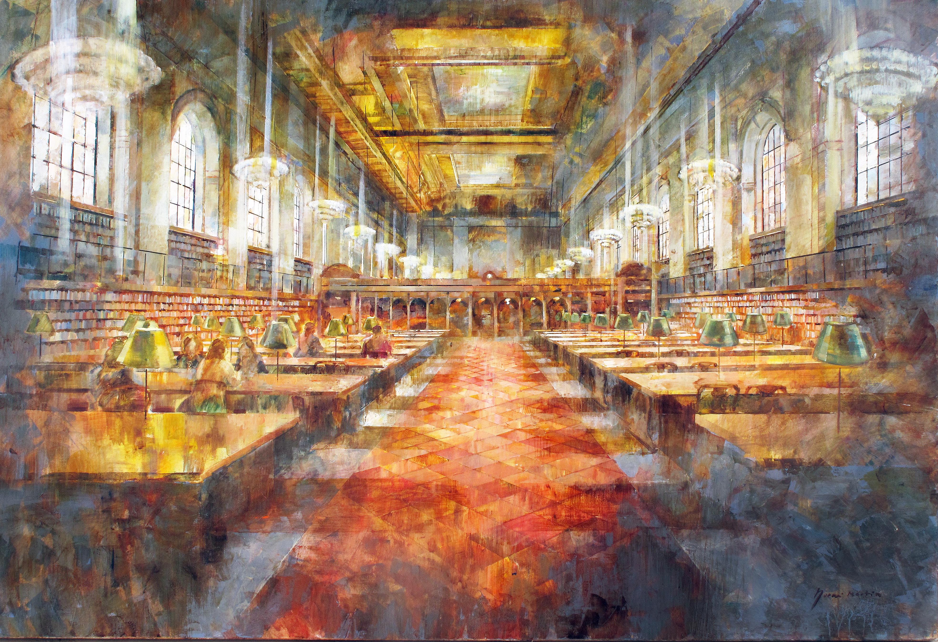 Public Library NY- 100 x 150 cm