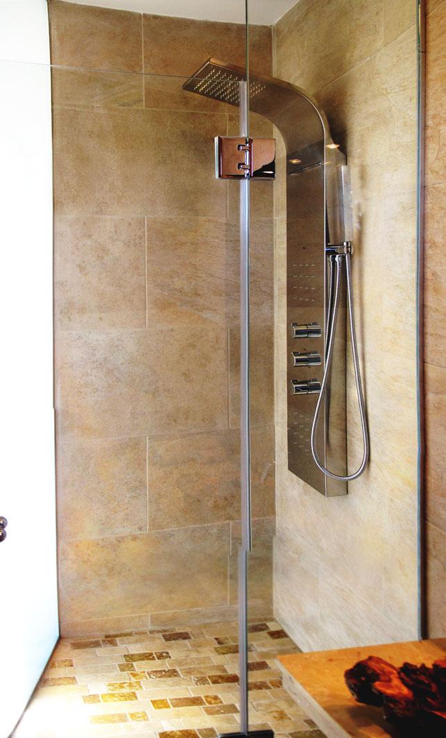 Hydro massage shower
