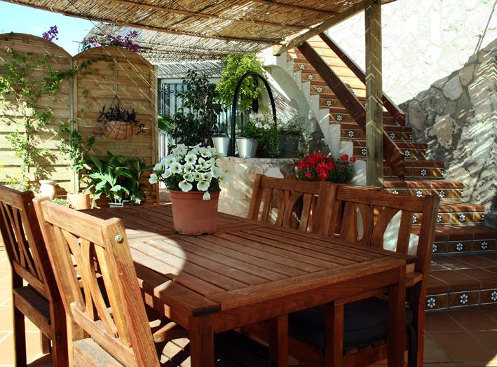 "Terrace & access "" Es Baluard """