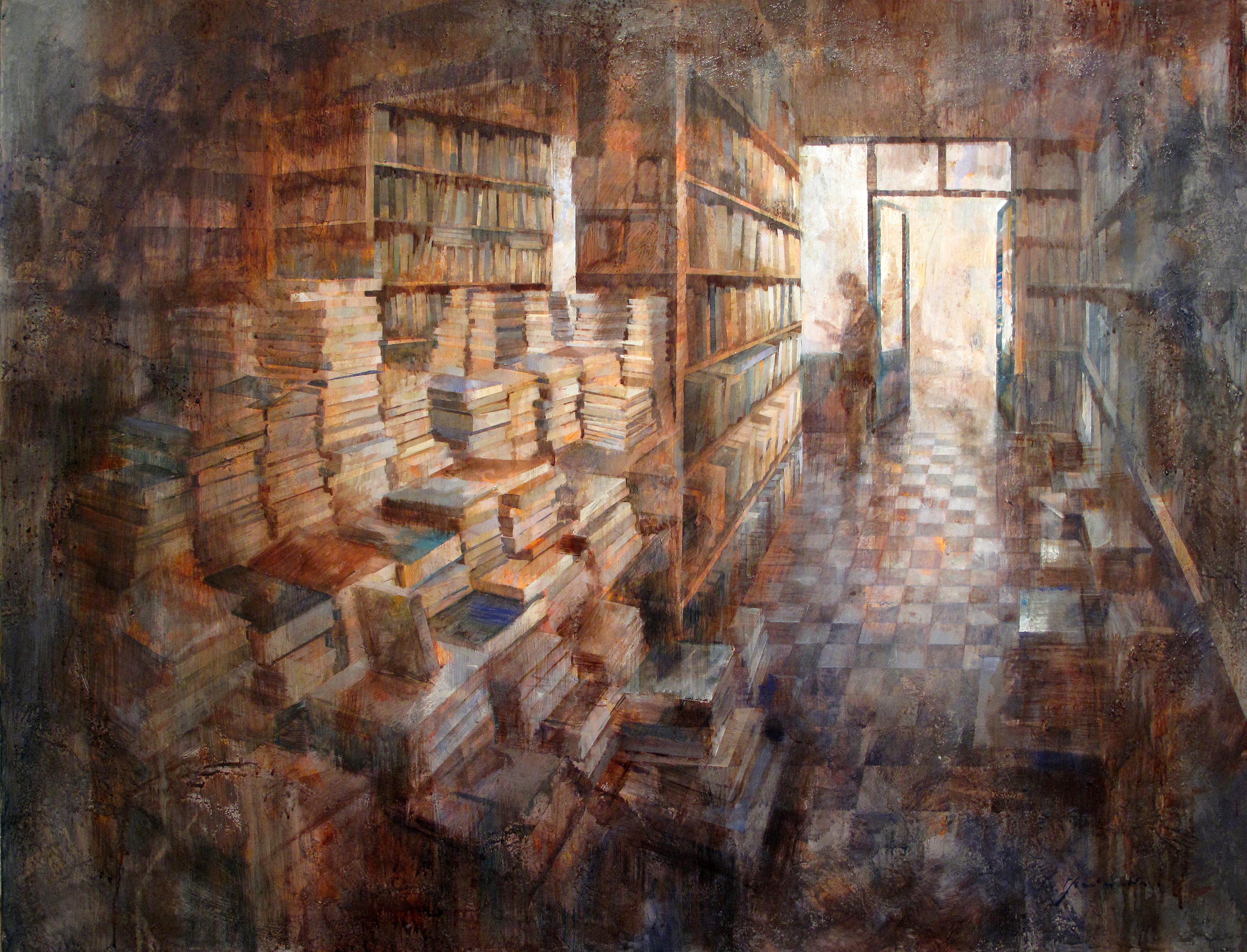 Interior Shakespeare100 x 130 cm