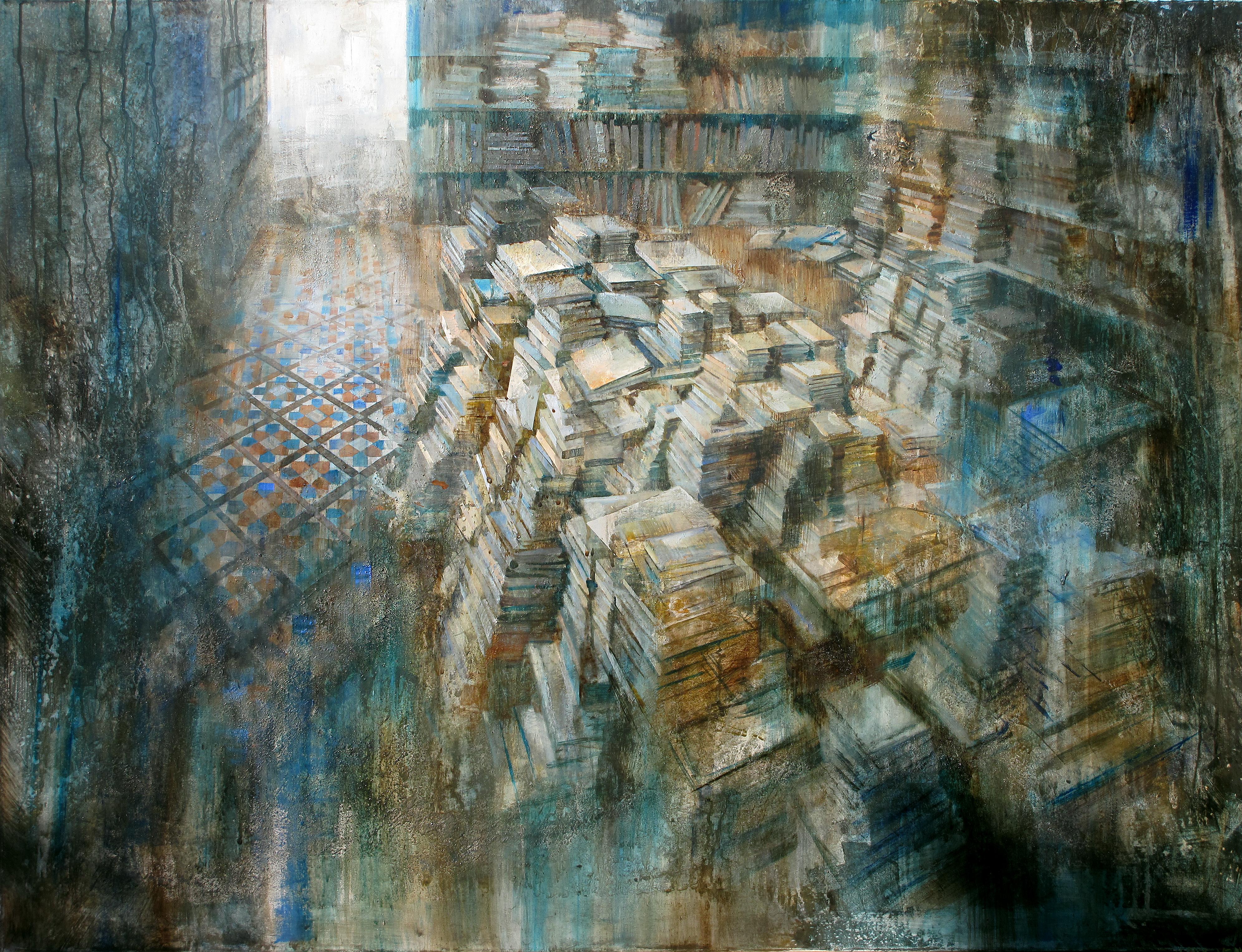 Ambient Literari - 100 x 130 cm