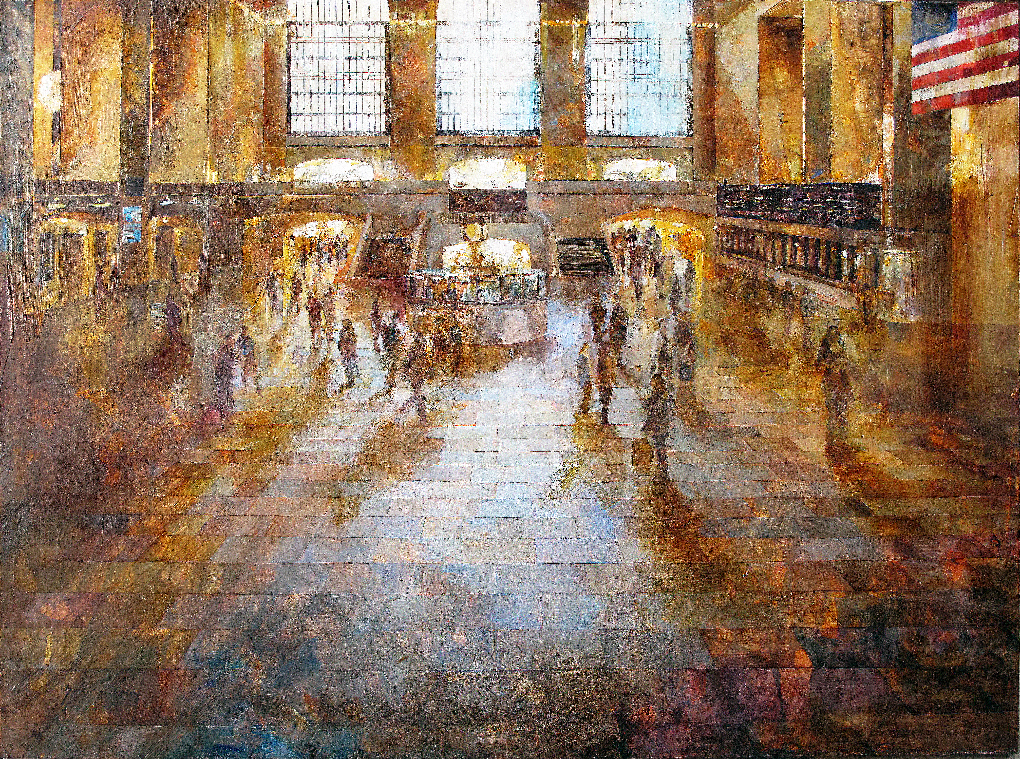 Central Station NYC - 75 x 100 cm