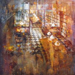 Ateneu Barcelonès- 100x100 cm