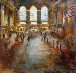 Central Station NYC -100x100 cm