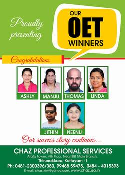 OET winners