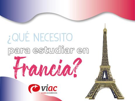 ¿Qué necesito para estudiar en Francia?