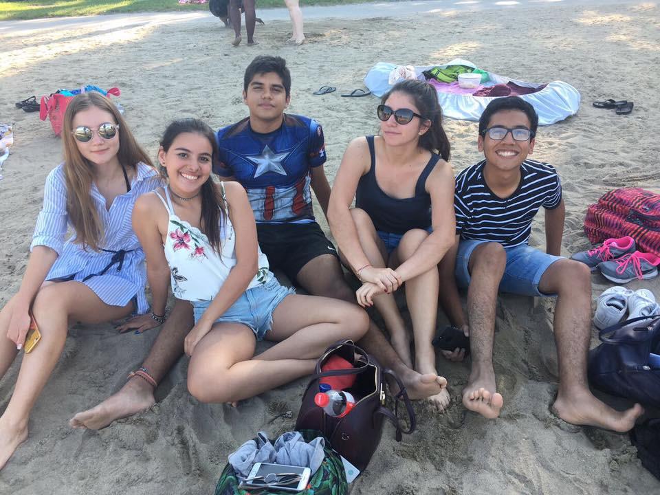 Verano en Canada  - Playa