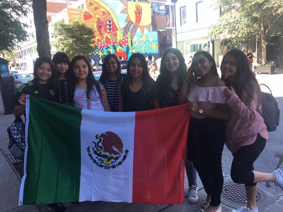 Verano en Canada - Viva México