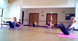 Freestyle Fitness Yoga class in Liss