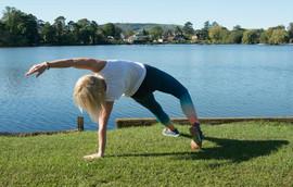 Yoga body stretch
