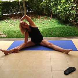 Yoga floor work