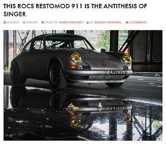 ROCS Panamericana - the antithesis of Singer
