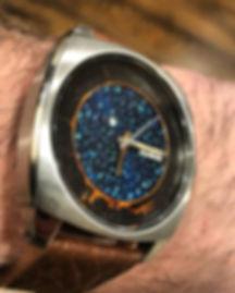 Seiko art watch by Richard Goncalves studioRGart