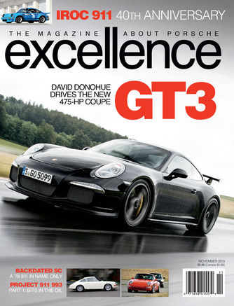 ROCS & the NJ1 Porsche build in Excellence Magazine