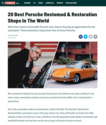 ROCS named among top 10 Porsche builders in the world