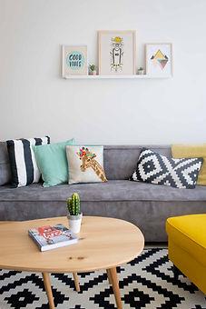 עיצוב ושדרוג דירות נופש  AIRBNB STYLE