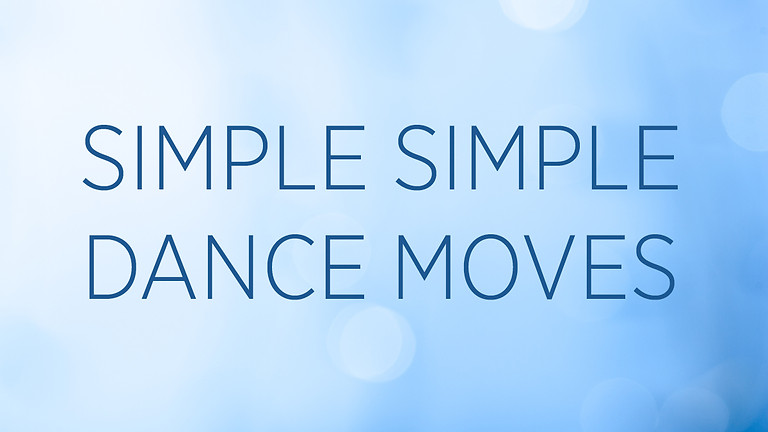 """""""Simple Simple Dance Moves"""" with GeGe Beall"""