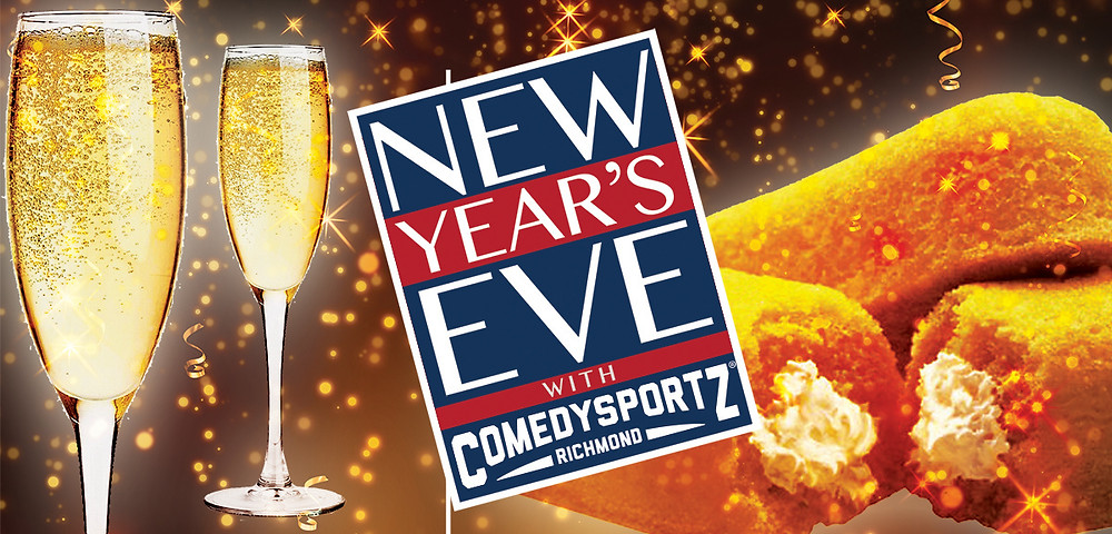 ComedySportz New Year's Poster