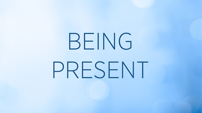 """""""Being Present"""" with Emily Arnold Fleming"""