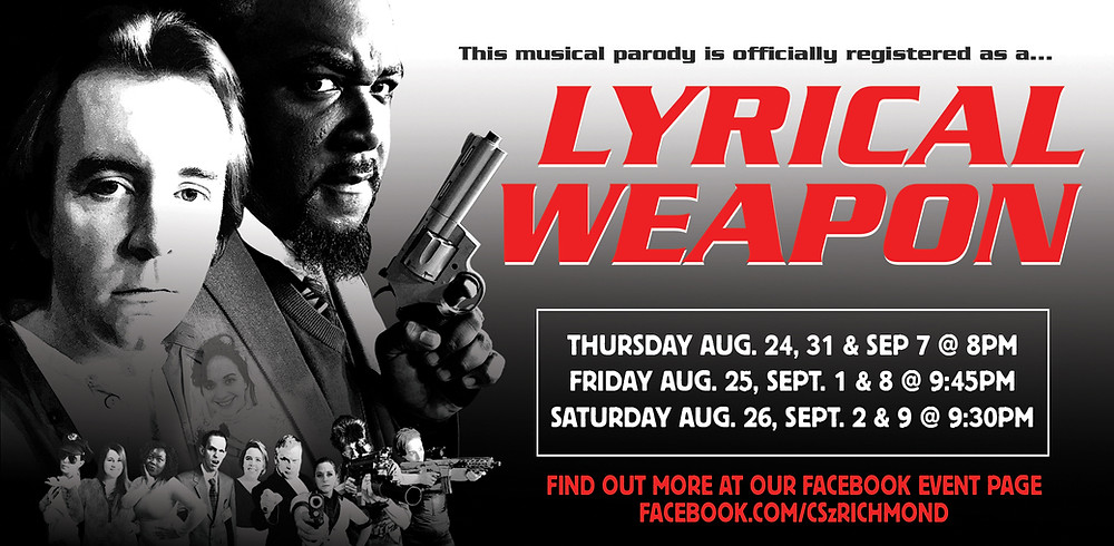 lyrical weapon performance poster