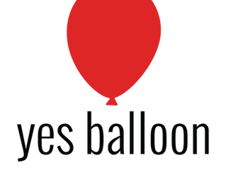 Mighty Fine Yes Balloon