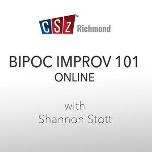 BIPOC IMPROV 101 - Online