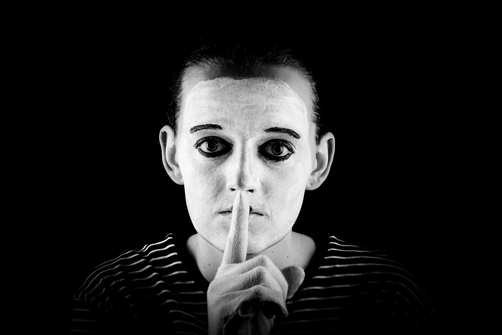 Mime Shows The Silence Please