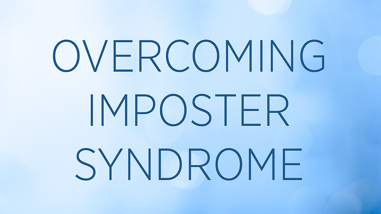 """""""Overcoming Imposter Syndrome"""" with Emily Arnold Fleming"""