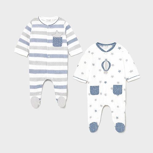 Set 2 pijamas punto