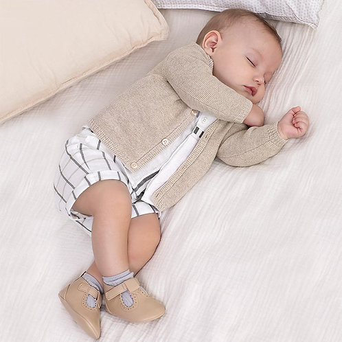 Conjunto pantalón corto y camisa  niño