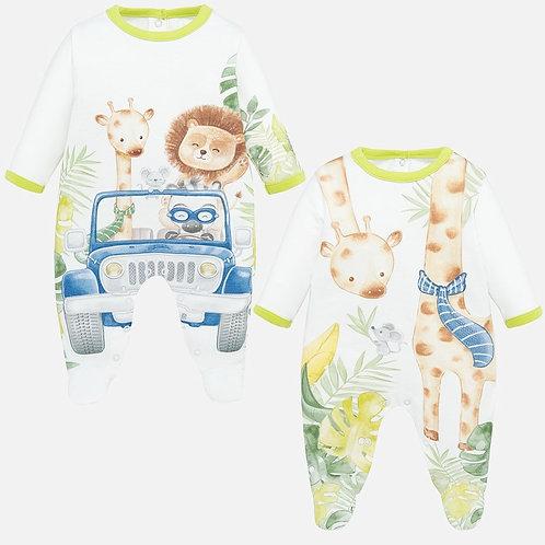 Pijama  Enteriza Safari