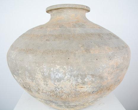 Chinese urn in terracotta