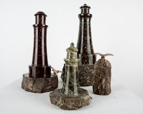 Four Marble Lighthouses