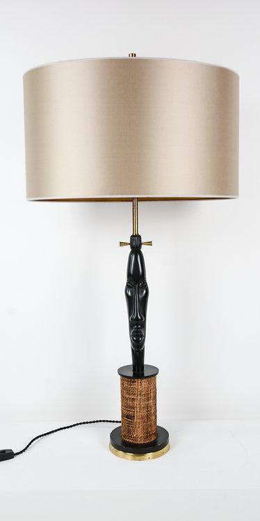 1950's Lamp 'African Head'