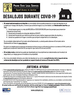 Prairie State COVID Eviction Handout Sp