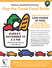 EYFP Pop the Trunk Food Drive Flyer.png