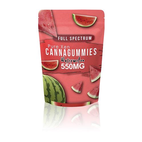 Pure Xen- Full Spectrum D8 Watermelon Gummies