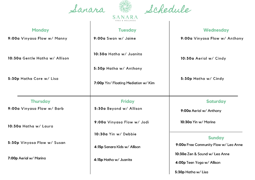 Oct 19 edit Sanara Schedule .png