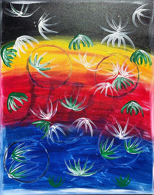 Lily Pads (Canvas)