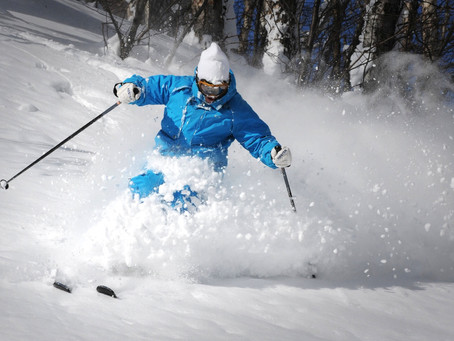 THE TRICK TO SKIING POW LIKE A PRO!