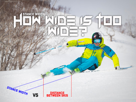 STANCE: HOW WIDE IS TOO WIDE?