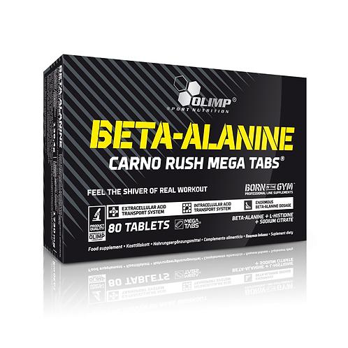 Olimp Sport Nutrition - Beta Alanine Carno Rush Mega 80 tabs