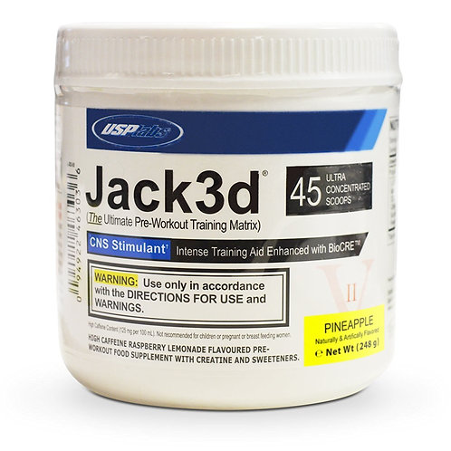 USP Labs - Jack3d Advanced Ananas 248g