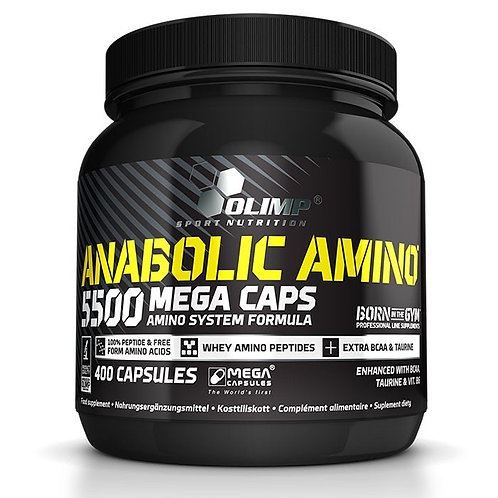 Olimp Sport Nutrition - Anabolic Amino 5500 Mega 400 caps