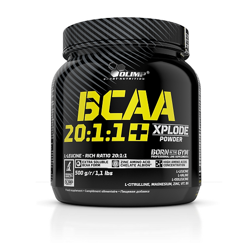 Olimp Sport Nutrition - BCAA Xplode 20:1:1 Powder 500g