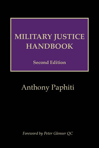 Cover image of Military Justice Handbook
