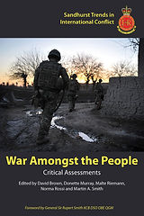 Front cover image of War Amongst the People book