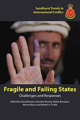 Front cover image of Fragile and Failing States book