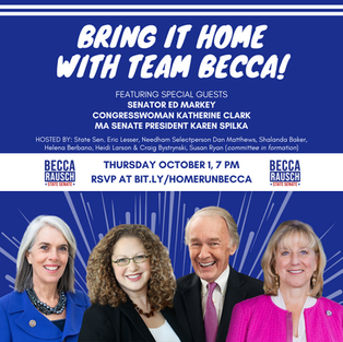 BRING IT HOME WITH TEAM BECCA!