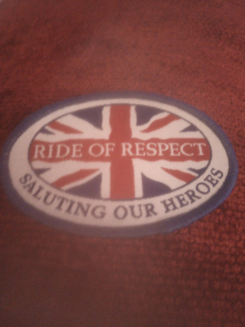The Ride of Respect Patch
